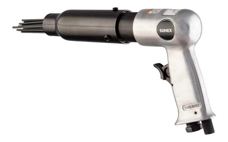 sunex sx246 pistol grip air needle scaler