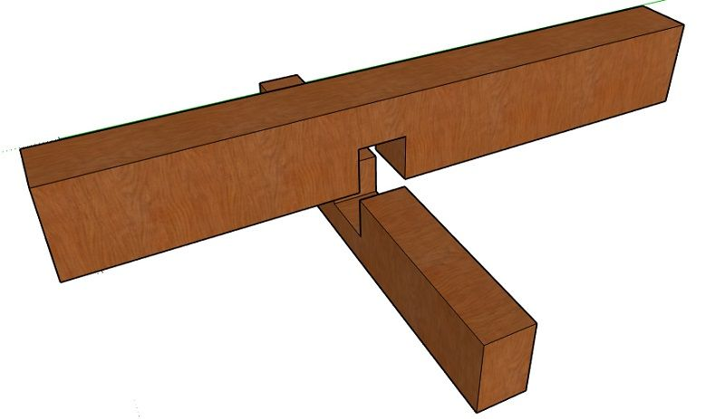 cross lap woodworking joint