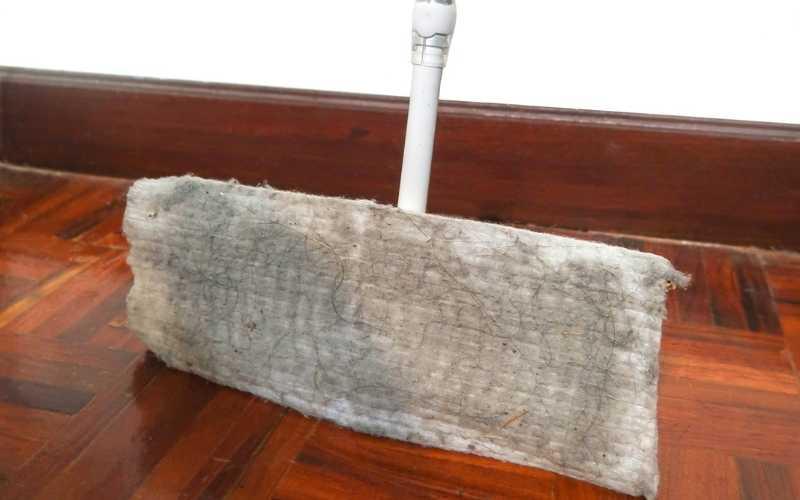 wall microfiber mop